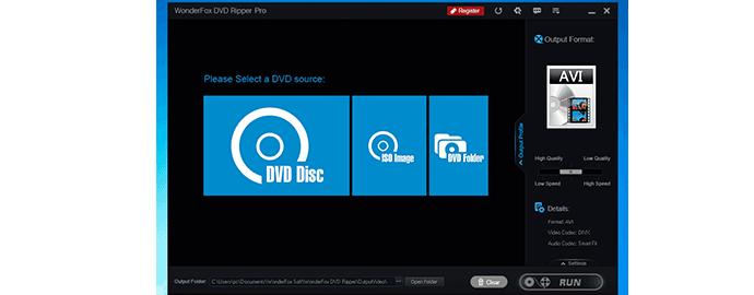 trasformare dvd