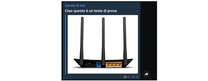 messaggio bot